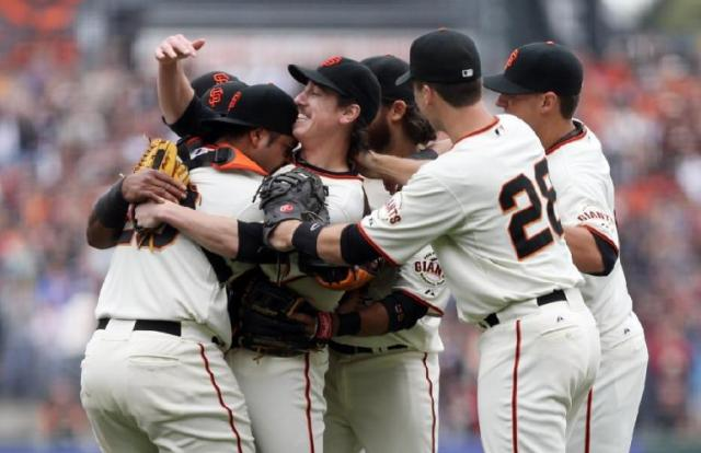 Tim Lincecum pitched a no-hitter yesterday. We love him again!